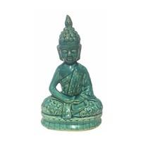 Blauwe Boeddha Porselein