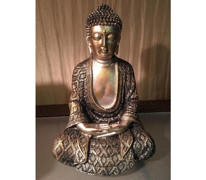 Mediterende Boeddha Lotus M