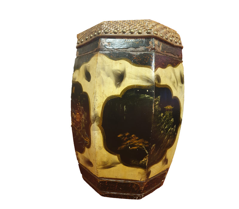 Stool with Nature Painting - China