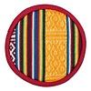 Fine Asianliving Singing Bowl Cushion plat Tribal design