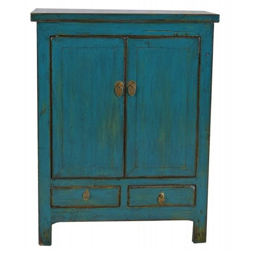 Chinese Cabinet Vintage Teal - Shanxi, China