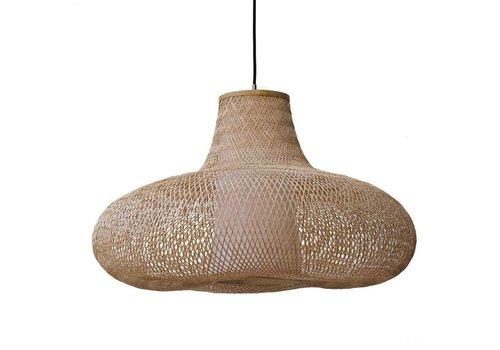 Fine Asianliving Lampe en bambou tressé à la main