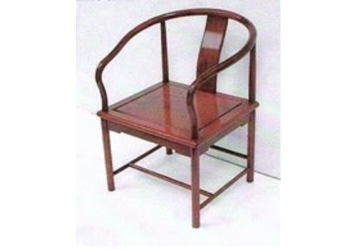 Fine Asianliving Rosewood Stool White Cushion