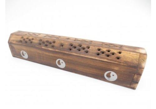 Fine Asianliving Incense Storage Box YIN YANG