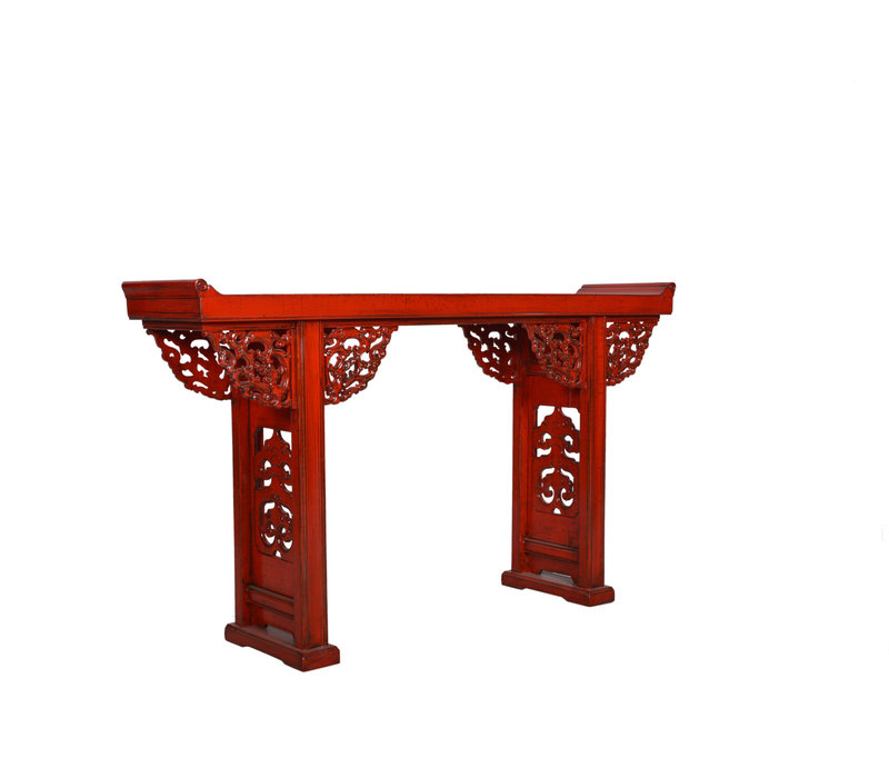 Chinese Sidetable Details Rood