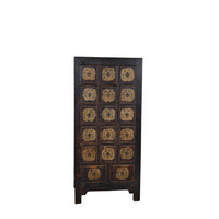 Commode Chinoise Antique Noir - Shandong, Chine