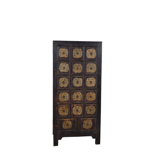 Fine Asianliving Antique Chinese Dresser Black  - Shandong, China