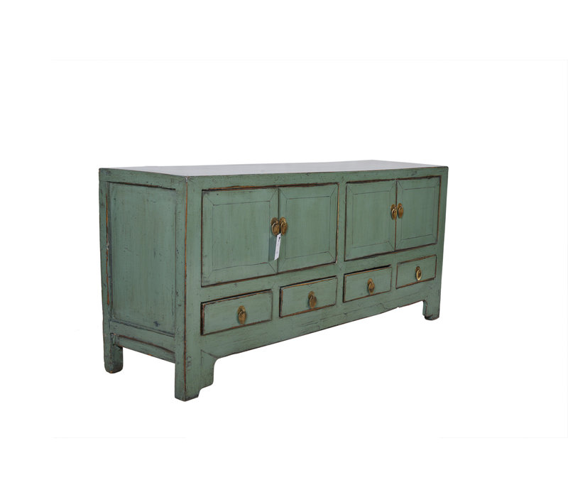 Fine Asianliving Small Antique Chinese  Cabinet Mint  - Tianjin, China