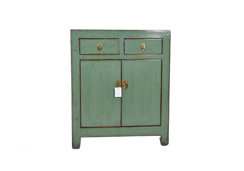 Fine Asianliving Fine Asianliving Small Antique Chinese Cupboard Mint - Dongbei, China