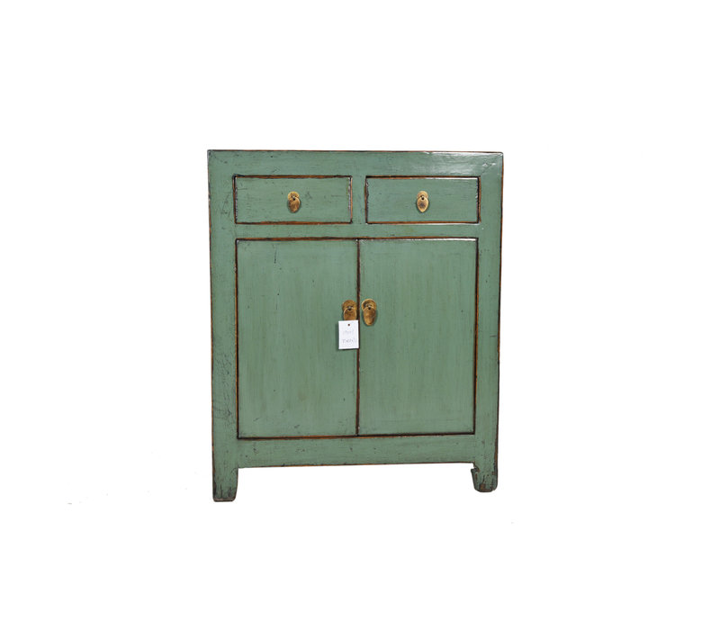 Fine Asianliving Kleine Antieke Chinese Kast Mint  - Dongbei, China