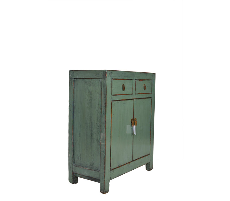 Fine Asianliving Small Antique Chinese Cupboard Mint  - Dongbei, China