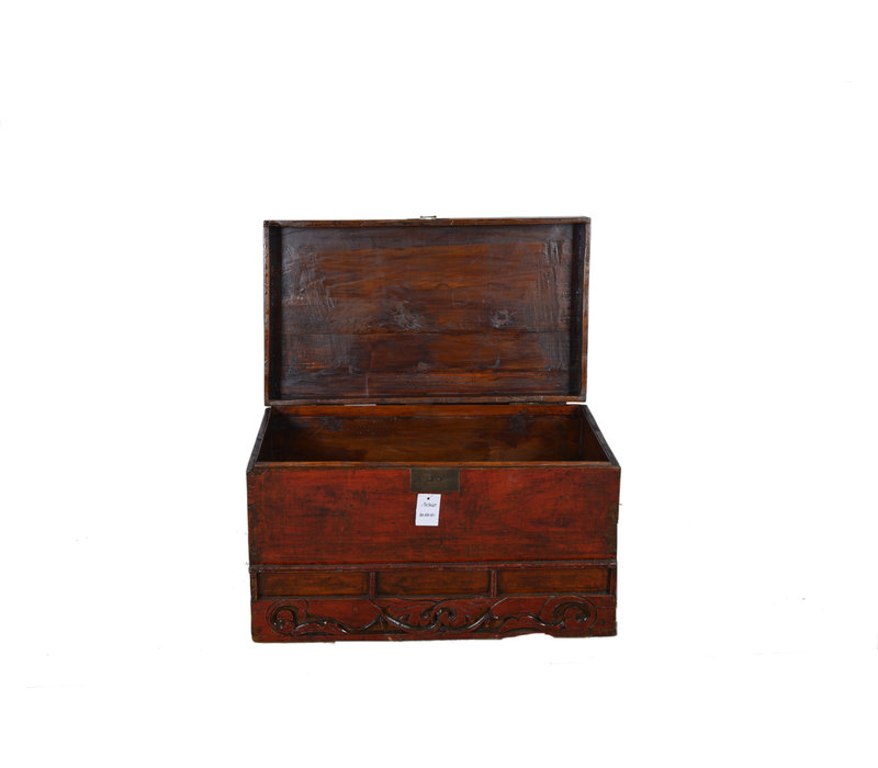 Antique Storage Box with Details - Shandong, China