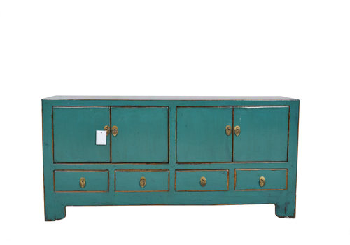 Fine Asianliving Fine Asianliving Antique Chinese  Cabinet Teal L - Tianjin, China