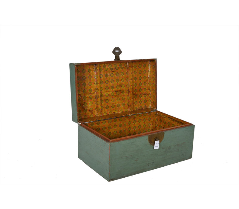 Fine Asianliving Antique Box Mint  - Shandong, China