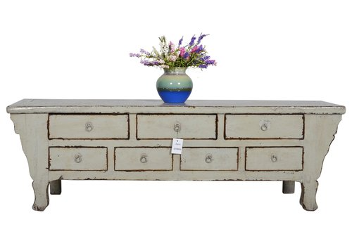 Fine Asianliving Fine Asianliving Antique Chinese Cabinet White  - Shandong, China