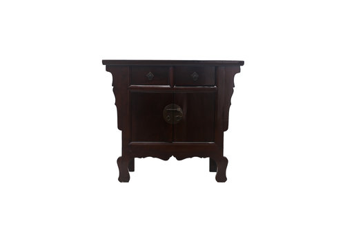 Fine Asianliving Fine Asianliving Antique Small Chinese Sideboard Dark (1900-1920) - Zhejiang, China