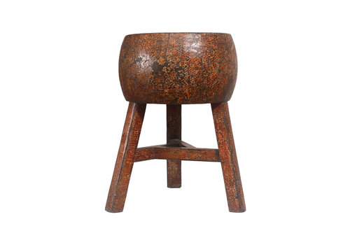 Fine Asianliving Tabouret Chinois aven Motif