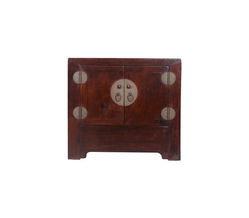 Antique Small Chinese Cupboard Brown - Beijing, China
