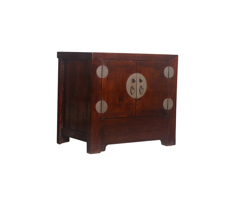 Fine Asianliving Antique Small Chinese Cupboard Brown - Beijing, China