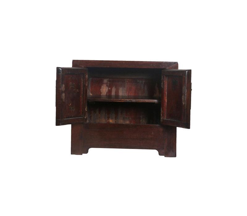 Antiker Chinesischer Schrank Klein Braun - Peking, China
