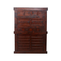 Antique Japanese Cabinet Brown