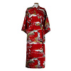 Fine Asianliving Japanese Kimono Geisha Red