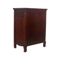 Fine Asianliving Small Antique Chinese Cabinet Dark Pattern - Beijing, China