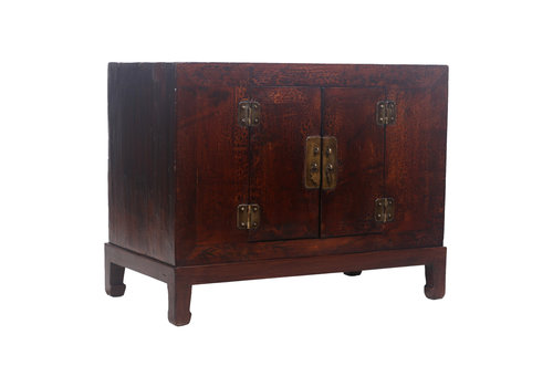 Fine Asianliving Armoire Chinoise Antique Motif Brune - Shanxi, Chine