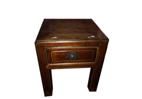 Fine Asianliving Antique Chinese Stool White lade