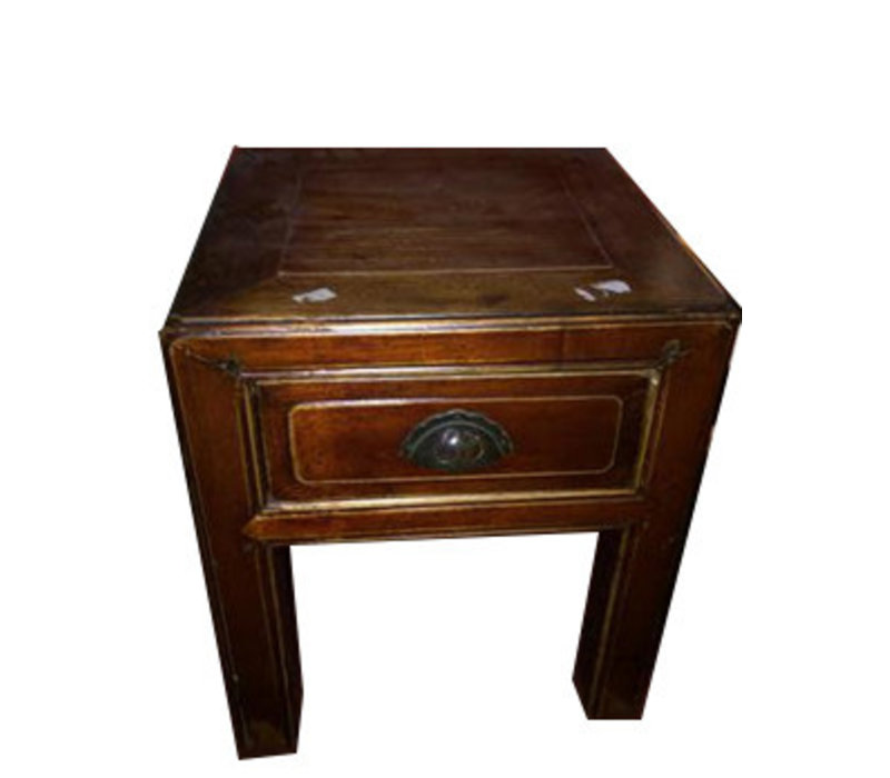 Antique Chinese Stool White lade
