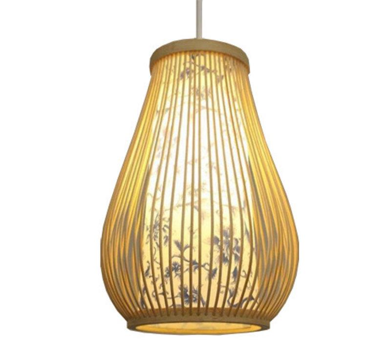 Plafonnier Luminaire Suspendu Bambou Abat-Jour Fait Main - Chloé