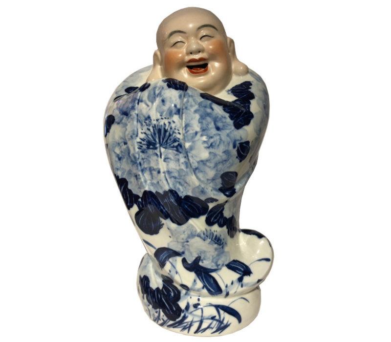 Happy Chinese Boeddha Beeld Lachend Porselein