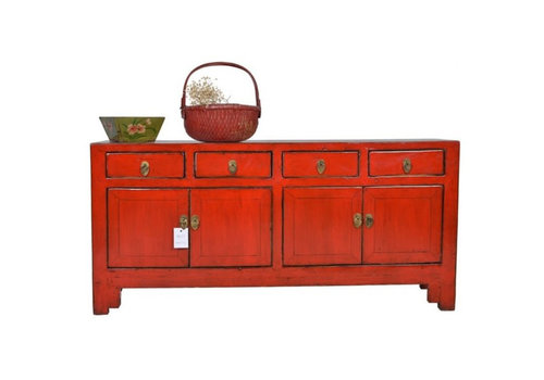 Fine Asianliving Fine Asianliving Antiek Chinees Dressoir Rood  - Tianjin, China