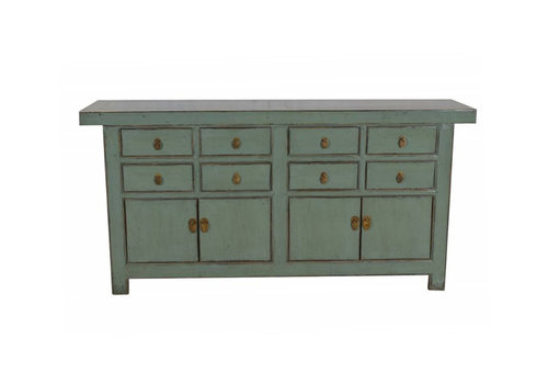 Fine Asianliving Cómoda China Antigua Menta A180xP45xA88cm