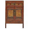 Fine Asianliving Fine Asianliving Antique Chinese Wedding Cabinet Handcrafted W103xD50xH176cm