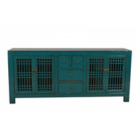 Chinese sideboard with Open planes Teal-Beijing, China