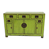 Fine Asianliving Antique Chinese Sideboard Glassy Green Tianjin China