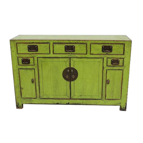 Antiek Chinees Dressoir Glassy Green  Tianjian China