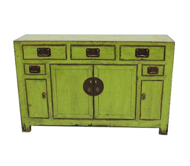 Antikes Chinesisches Sideboard Kommode Grün - Tianjin, China