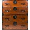 Fine Asianliving Antique Japanese Isho dansu Clothing Tansu Cupboard