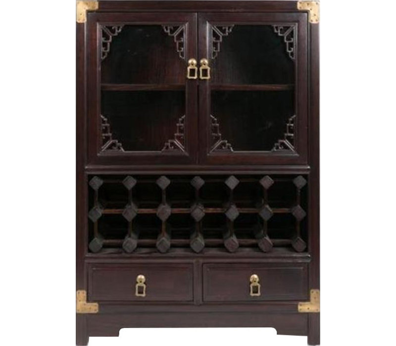 Chinese wine cabinet
