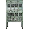 Fine Asianliving Antieke Chinese Kast Met Handsnijwerk Mint