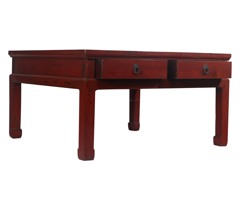 Fine Asianliving Chinese Coffee Table Drawers - Beijing