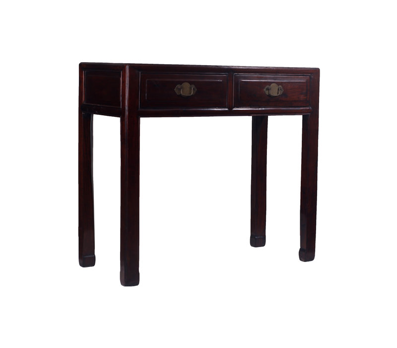 Fine Asianliving Antieke Klein Chinees Sidetable Lades  - Zhejiang, China