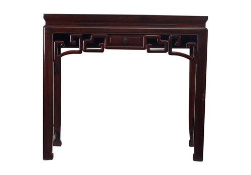 Fine Asianliving Antiker Chinesischer Konsolentisch Beistelltisch mit Schubladen Klein - Zhejiang, China