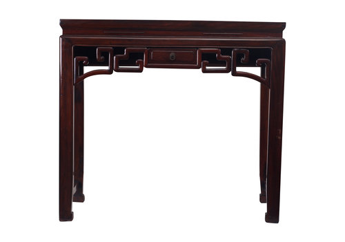 Fine Asianliving Antique Small Chinese Console Table Details Drawer - Zhejiang, China