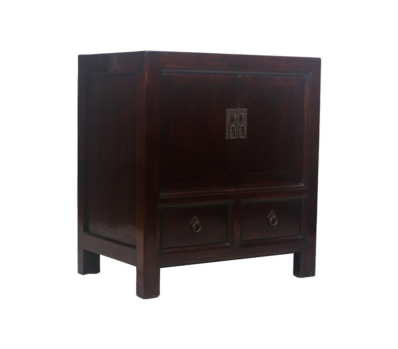 Fine Asianliving Antique Chinese Cupboard Brown Drawers - Beijing, China