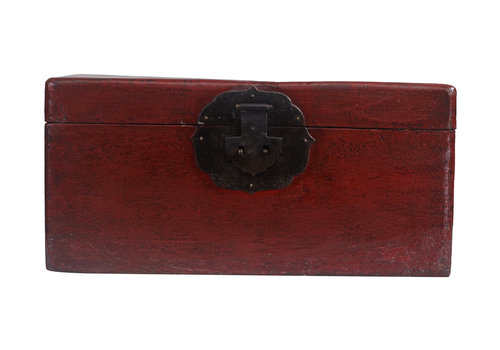 Fine Asianliving Fine Asianliving Antique Small Storage Box Red - Beijing, China