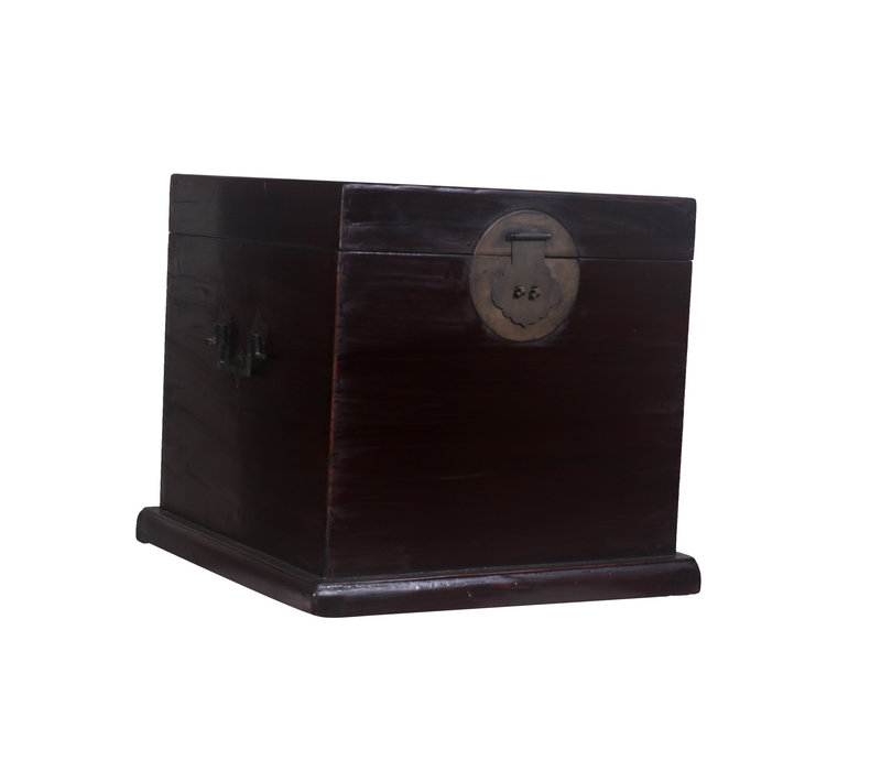 Fine Asianliving Antique Storage Box Black - Zhejing, China