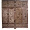 Fine Asianliving Zeldzame Antieke Chinese Bruidskasten Set/s Handgegraveerde Keizerlijke Draken B110xD55xH240cm